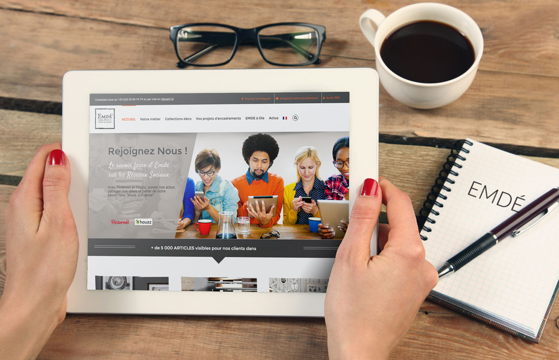 Nouveau site web EMDE