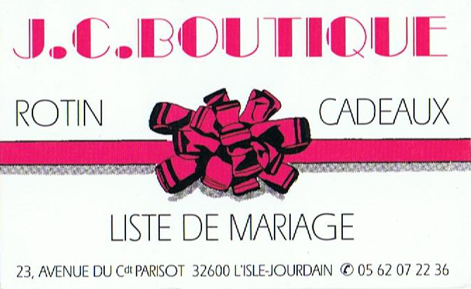 Logo JC Boutique