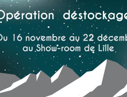 Destockage au show-room de Lille