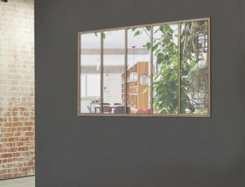 Miroir jardin : pour une déco 'URBAN ECO'