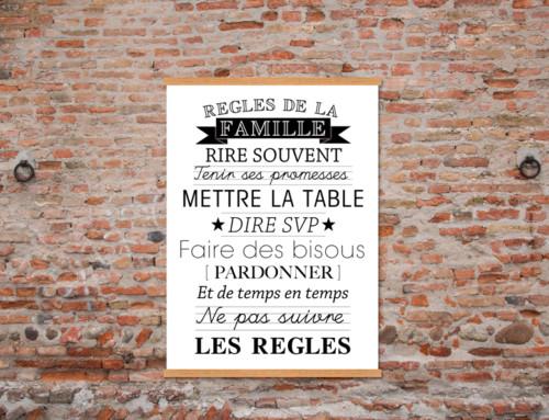 Visuel typo, une tendance Made in France disponible chez EMDE !