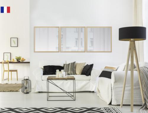 Inspiration scandinave : le miroir caisse
