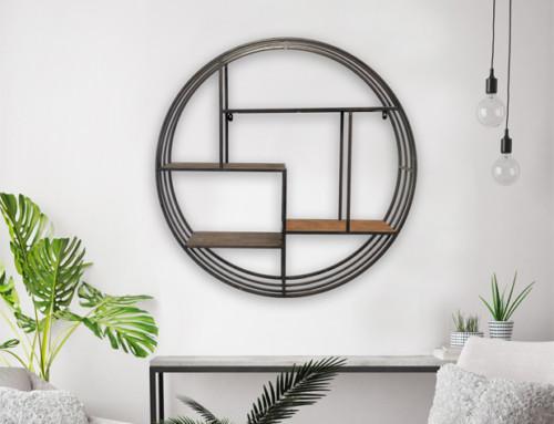 L'étagère ronde : faites varier les formes dans votre intérieur !